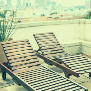 Wie betaalt de kosten van het balkon of dakterras?